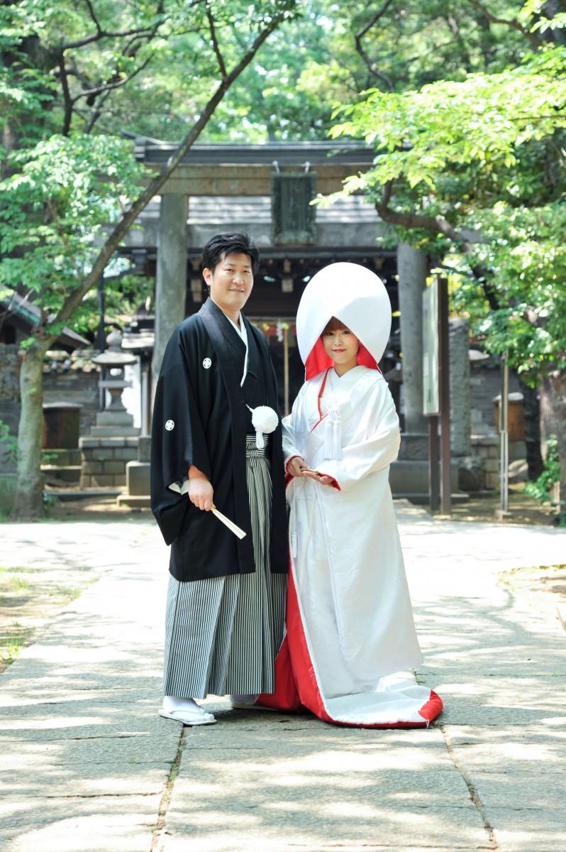 赤坂 氷川神社 結婚式 写真1