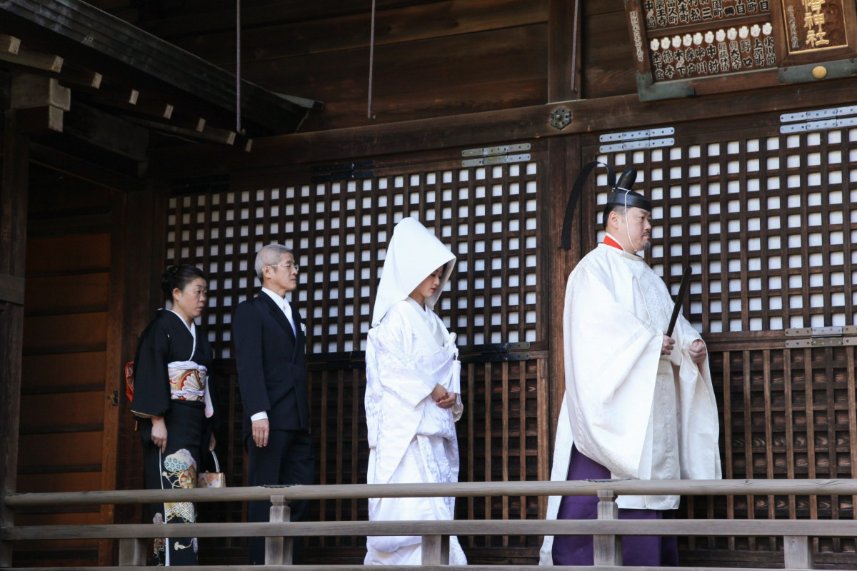 代々木八幡宮 結婚式 写真2