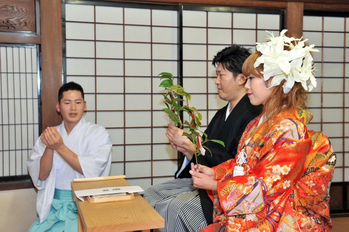 赤坂 氷川神社 結婚式 写真5