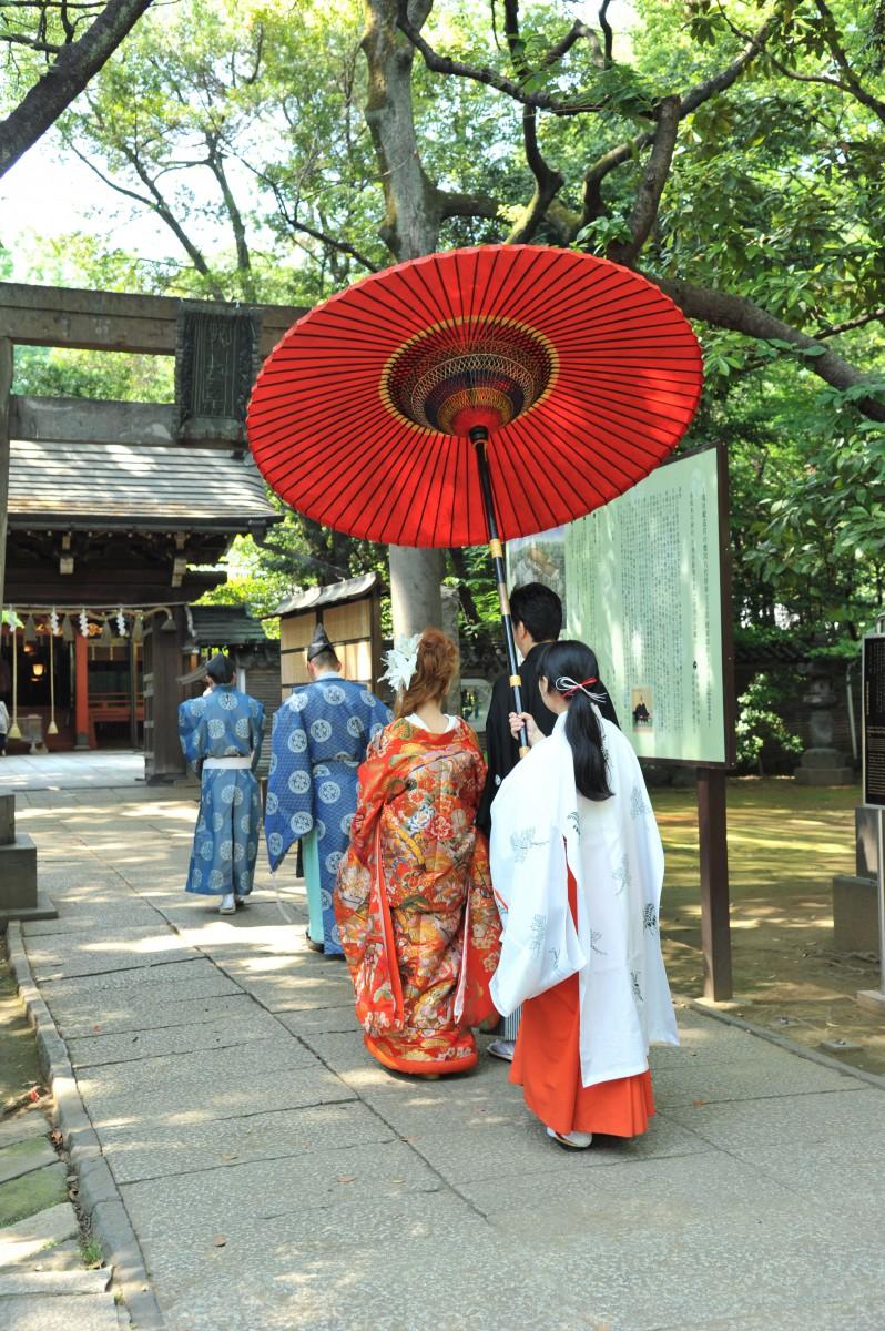 赤坂 氷川神社 結婚式 写真6