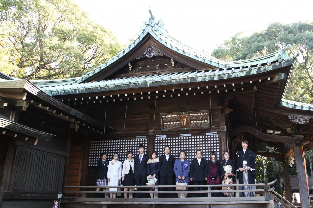 代々木八幡宮 結婚式 写真3