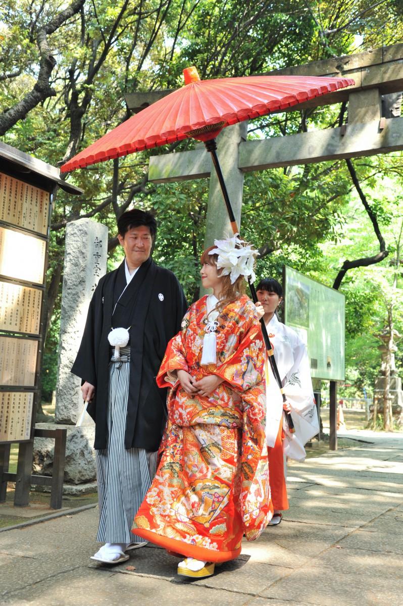 赤坂 氷川神社 結婚式 写真7