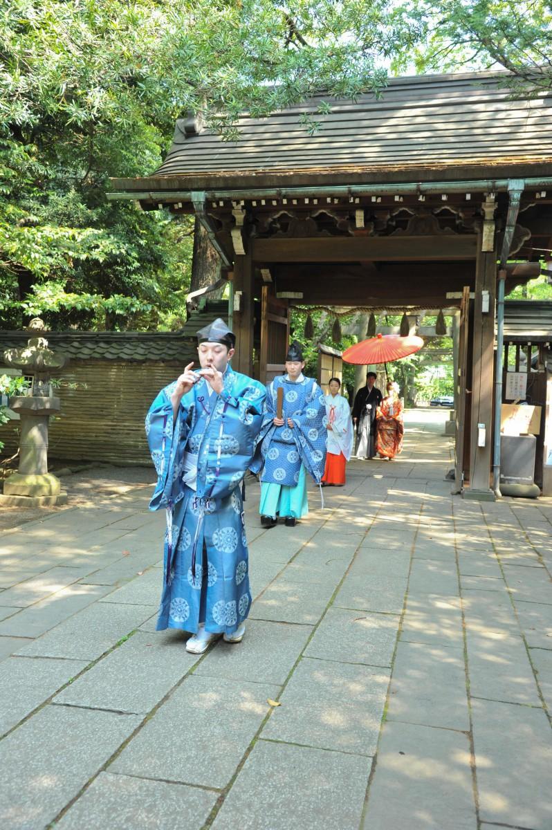赤坂 氷川神社 結婚式 写真8
