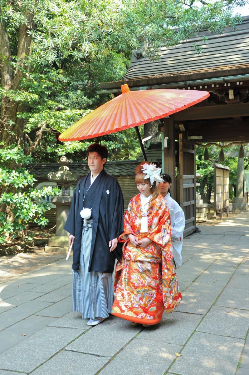 赤坂 氷川神社 結婚式 写真9
