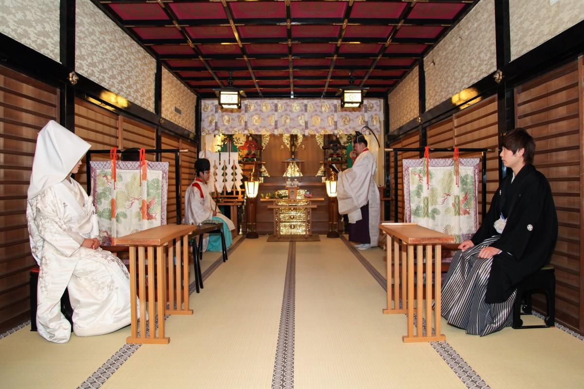 代々木八幡宮 結婚式 写真4