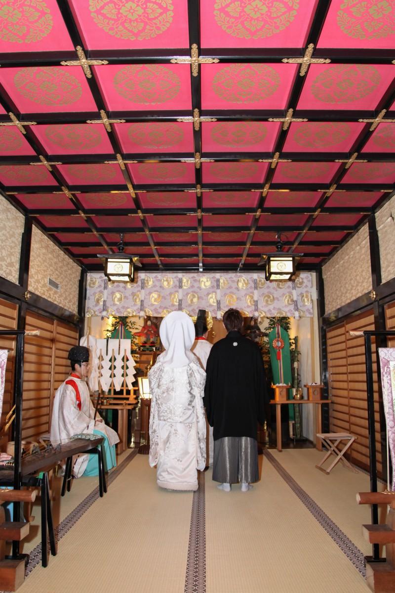 代々木八幡宮 結婚式 写真5