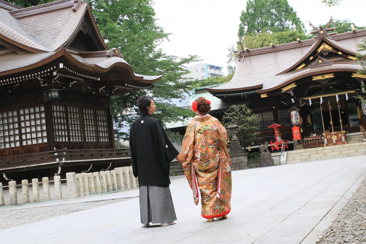 新宿十二社 熊野神社 結婚式 写真5