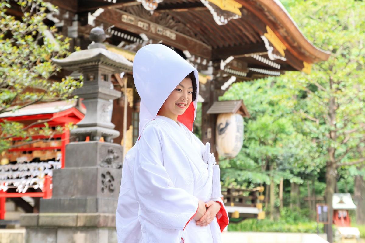 新宿十二社 熊野神社 結婚式 写真10