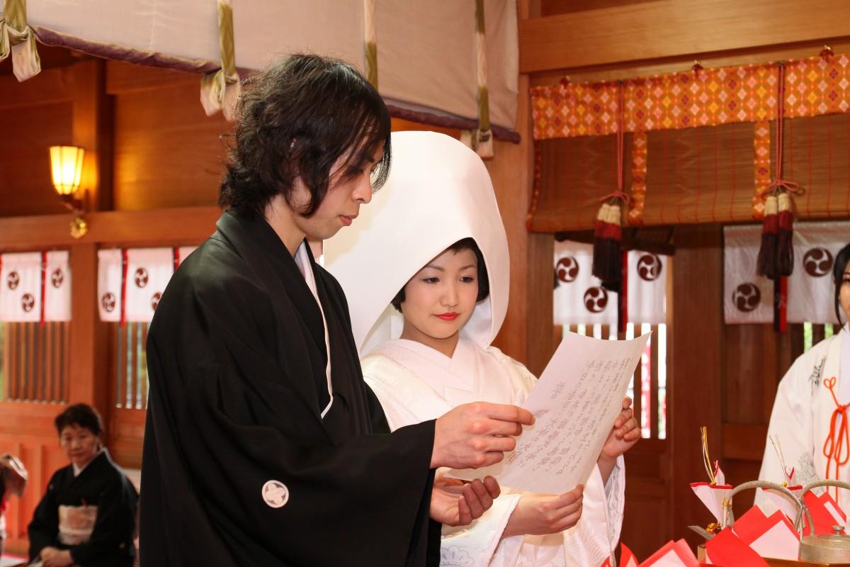 新宿十二社 熊野神社 結婚式 写真9
