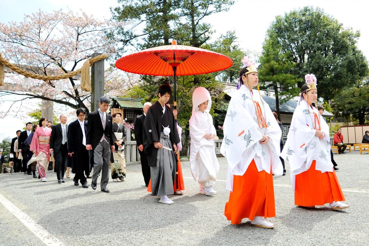 伊勢山皇大神宮 結婚式 写真8