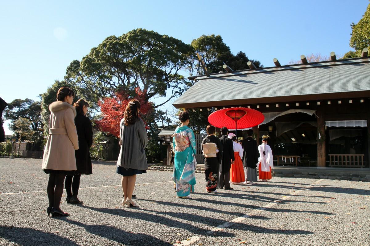 伊勢山皇大神宮 結婚式 写真1