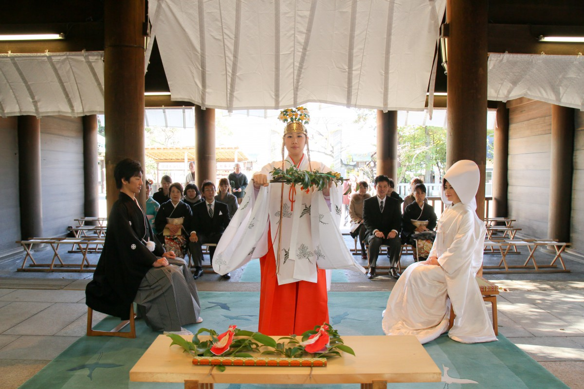 伊勢山皇大神宮 結婚式 写真5