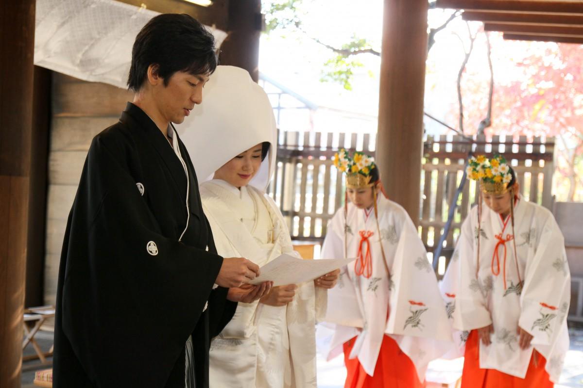 伊勢山皇大神宮 結婚式 写真2