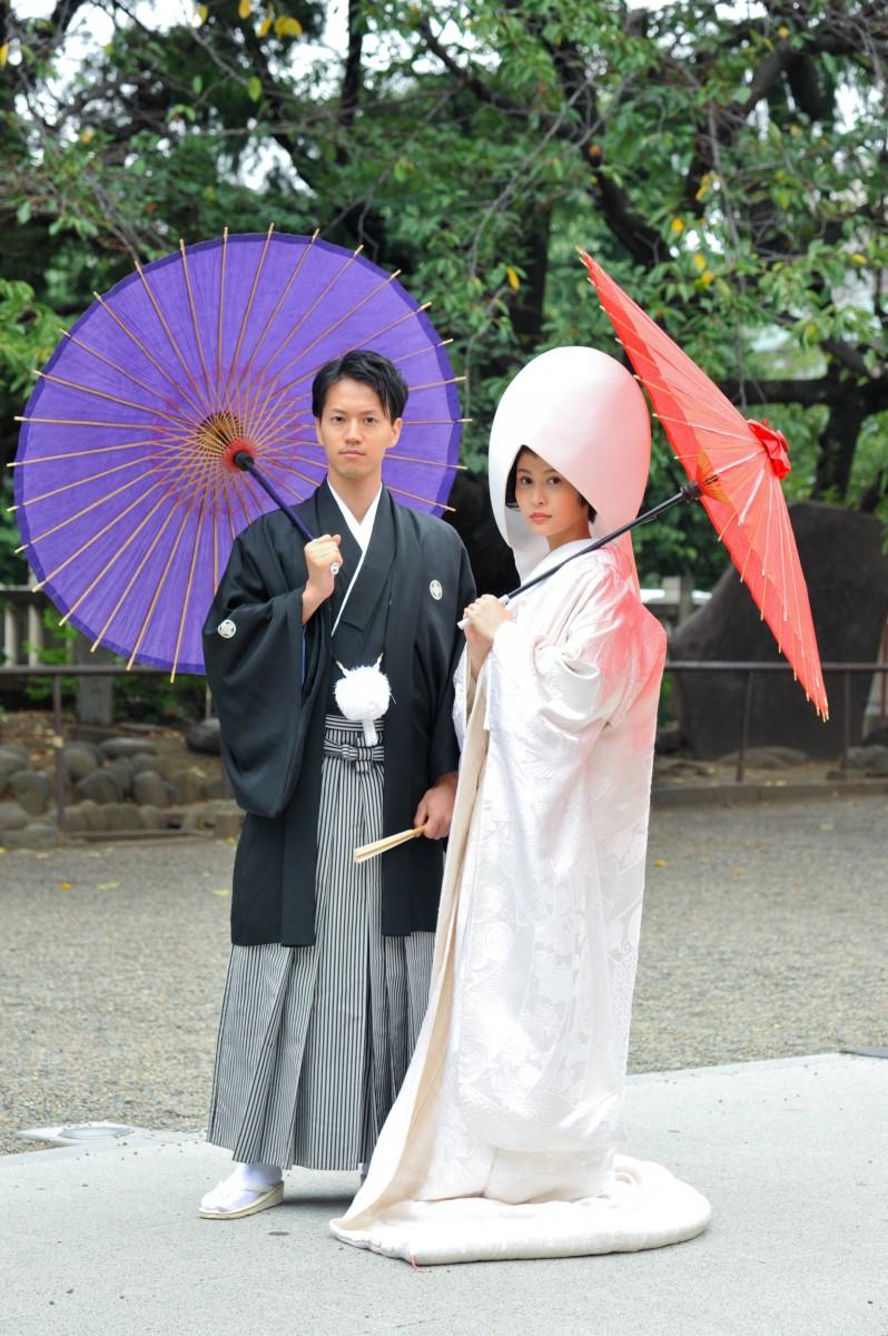 浅草神社 結婚式 写真1
