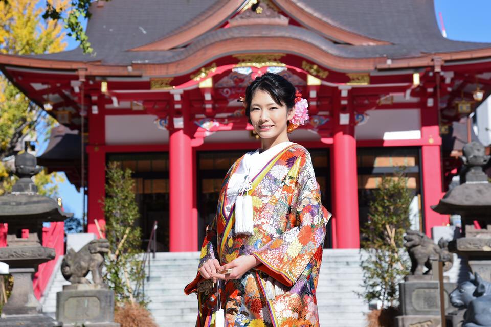 成子天神社 結婚式 写真1