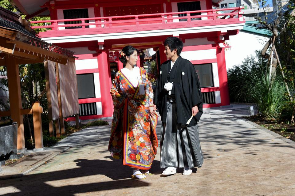 成子天神社 結婚式 写真2