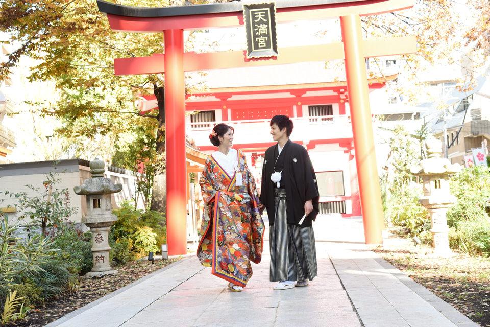 成子天神社 結婚式 写真3