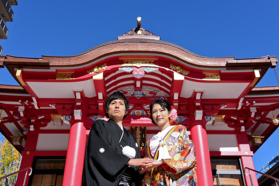 成子天神社 結婚式 写真5