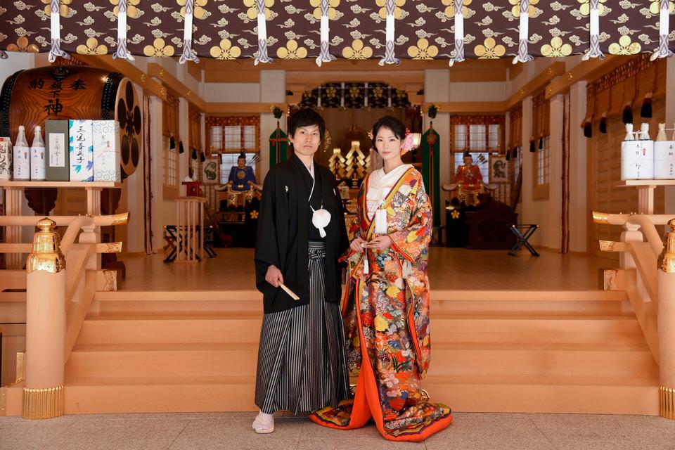 成子天神社 結婚式 写真8