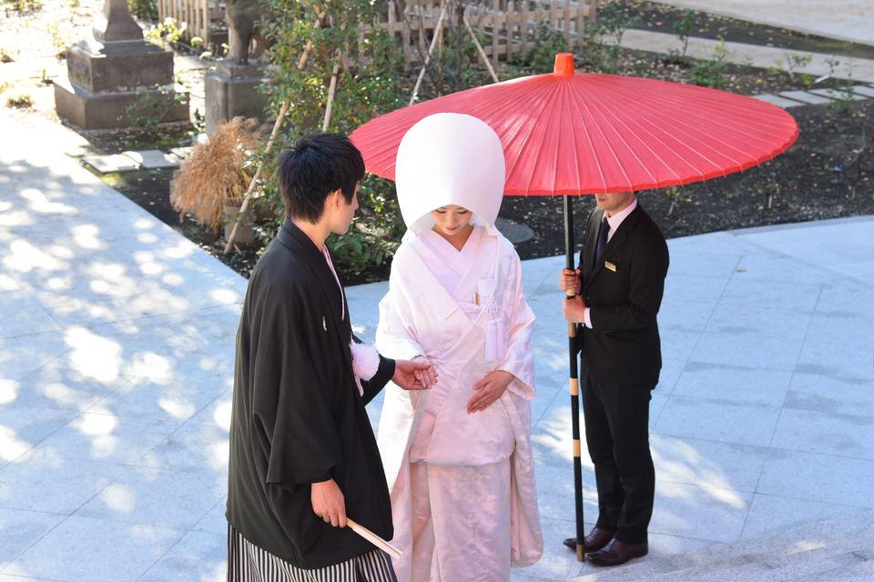 成子天神社 結婚式 写真10