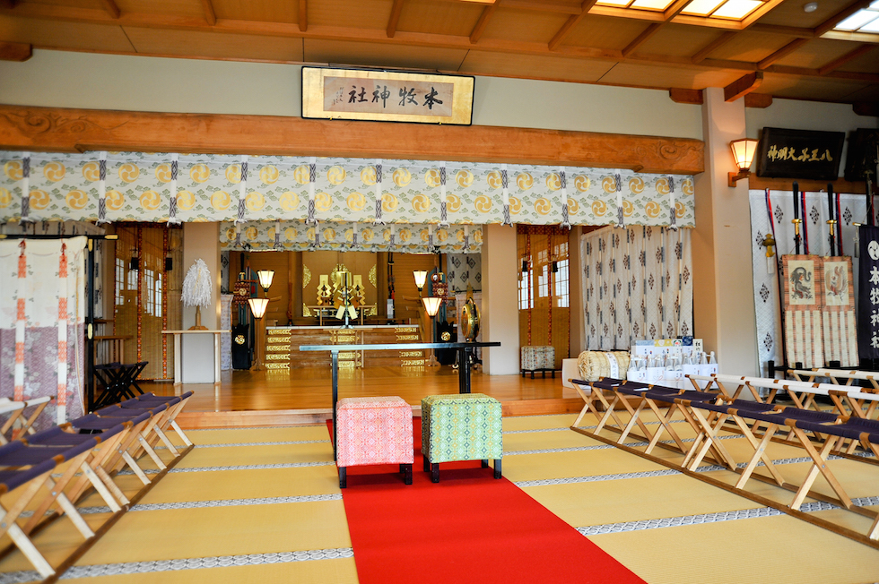 本牧神社 結婚式 写真7