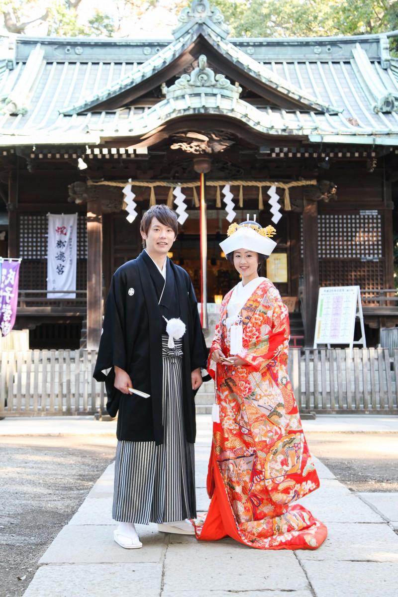 代々木八幡宮 結婚式 写真1