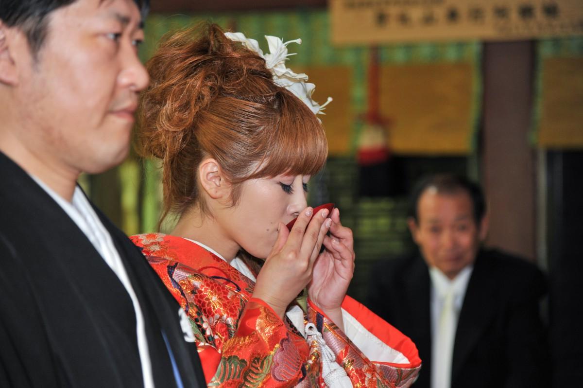 赤坂 氷川神社 結婚式 写真10