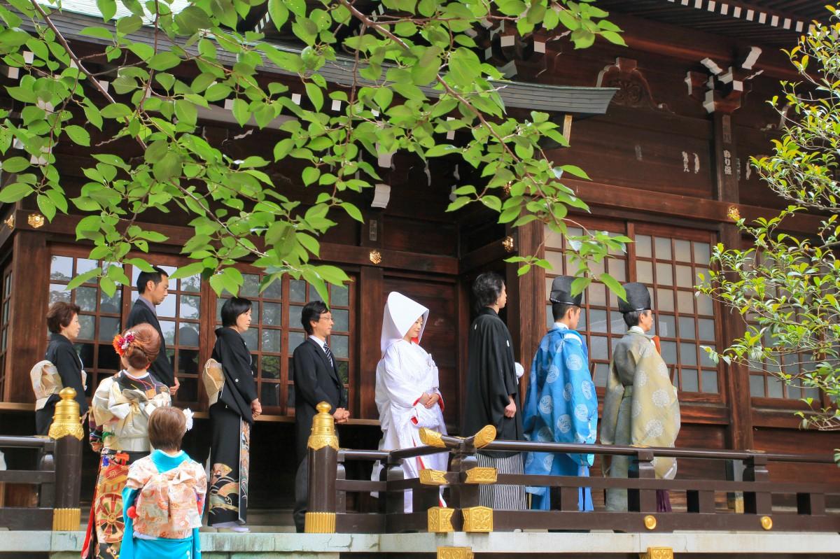 新宿十二社 熊野神社 結婚式 写真6