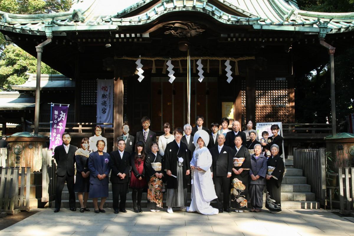 代々木八幡宮 結婚式 写真10