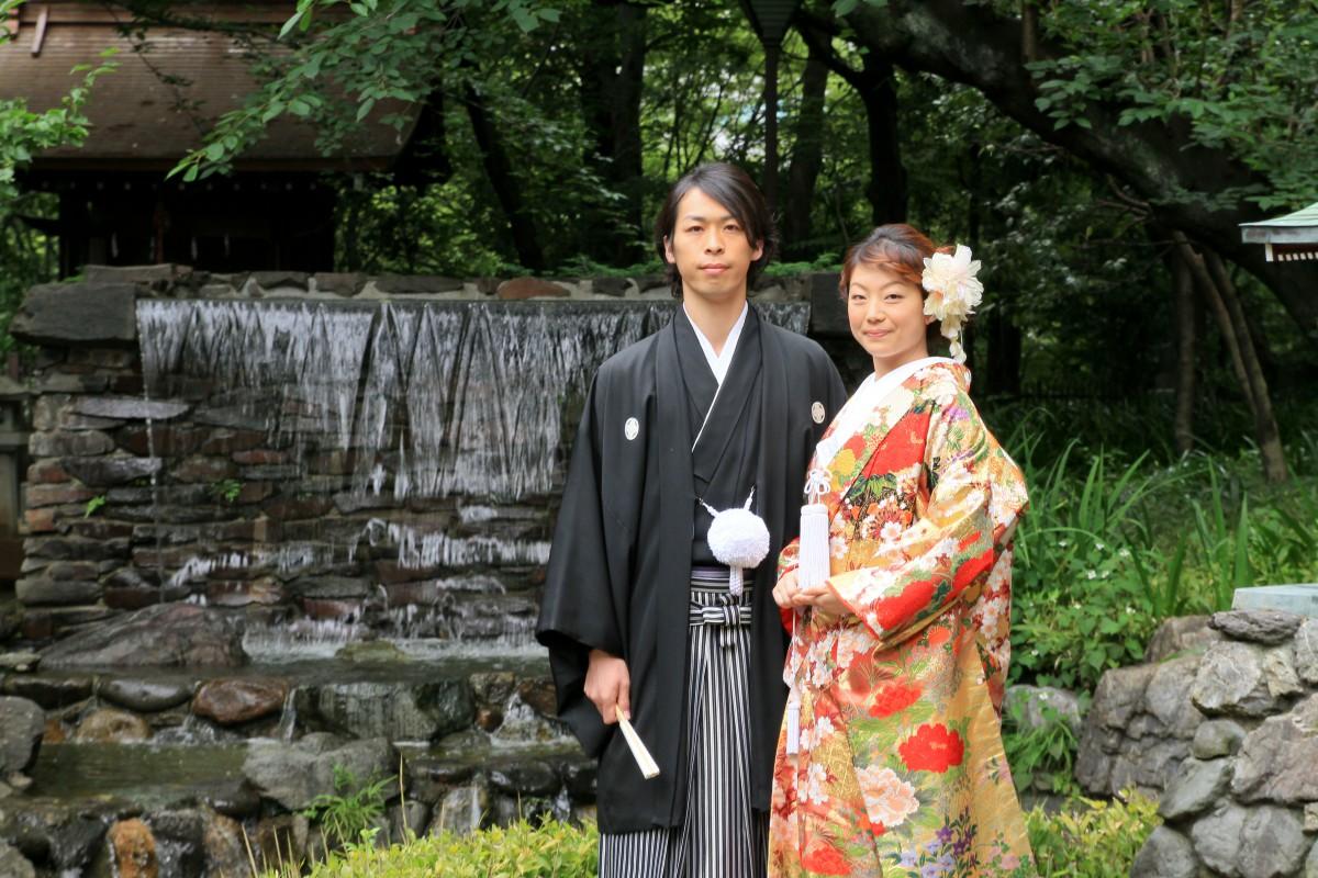 新宿十二社 熊野神社 結婚式 写真2