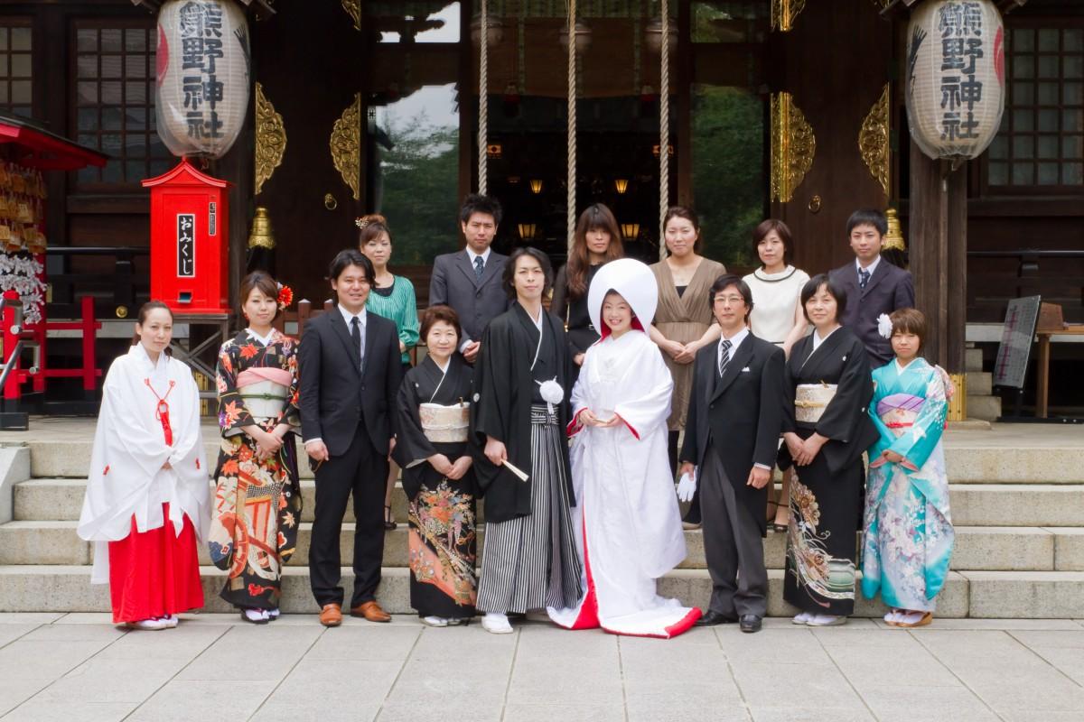 新宿十二社 熊野神社 結婚式 写真4