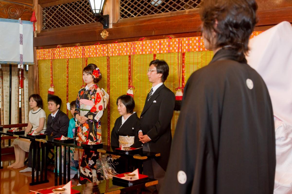 新宿十二社 熊野神社 結婚式 写真8