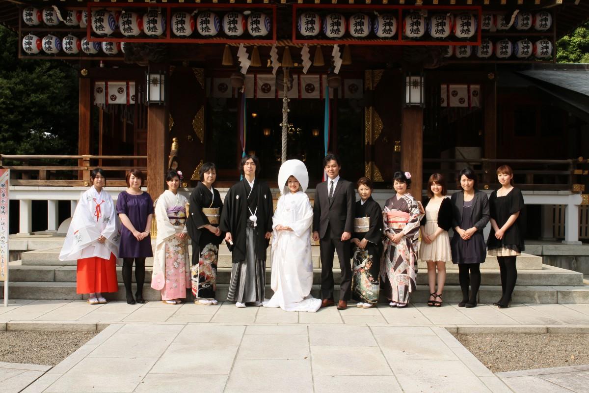 沼袋 氷川神社 結婚式 写真1