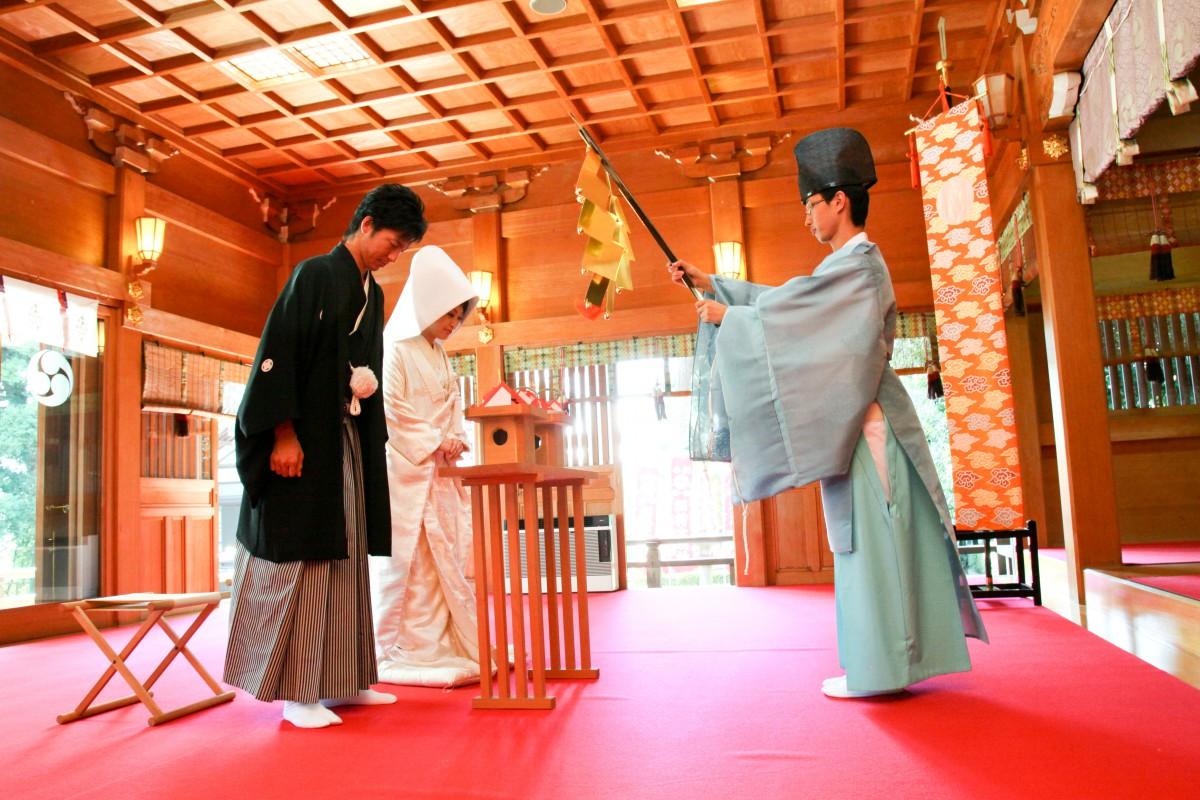 沼袋 氷川神社 結婚式 写真5