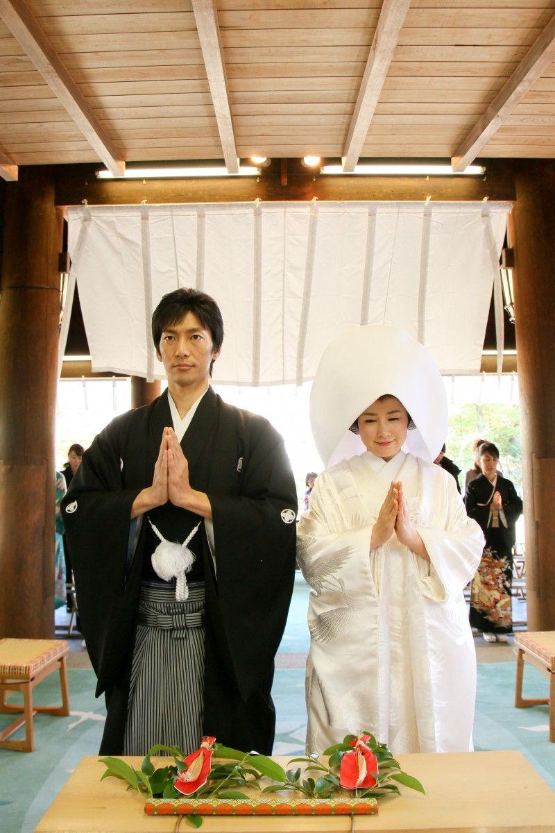 伊勢山皇大神宮 結婚式 写真4