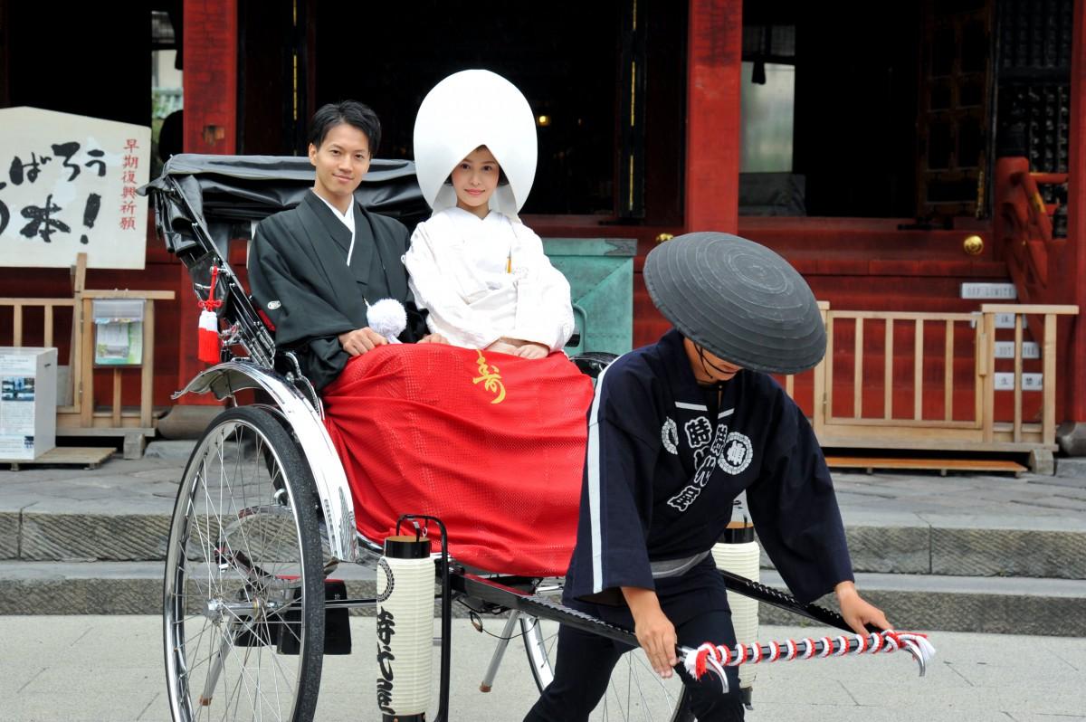 浅草神社 結婚式 写真2