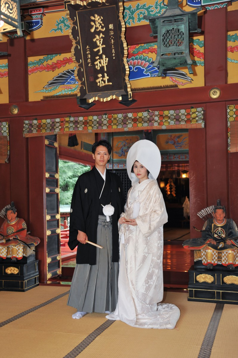 浅草神社 結婚式 写真8