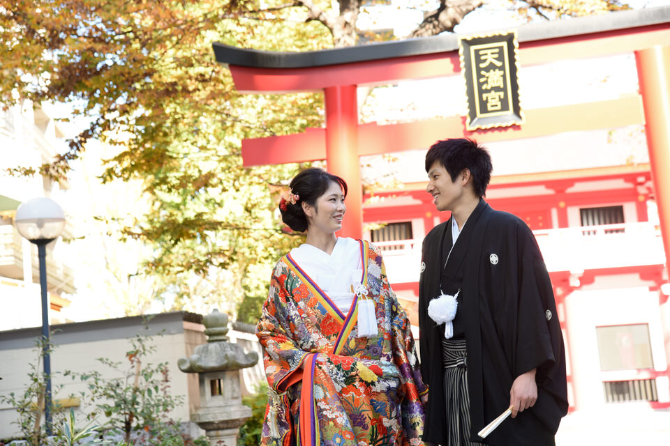 成子天神社 結婚式 写真4
