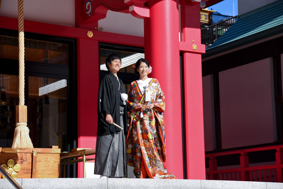 成子天神社 結婚式 写真6
