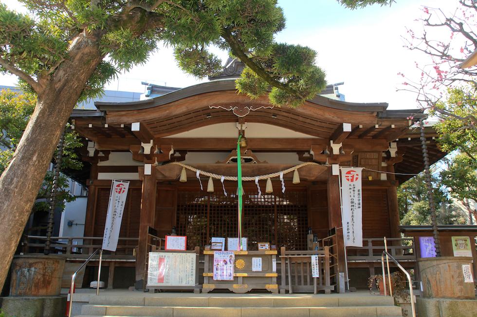 鳩森八幡神社 結婚式 写真1