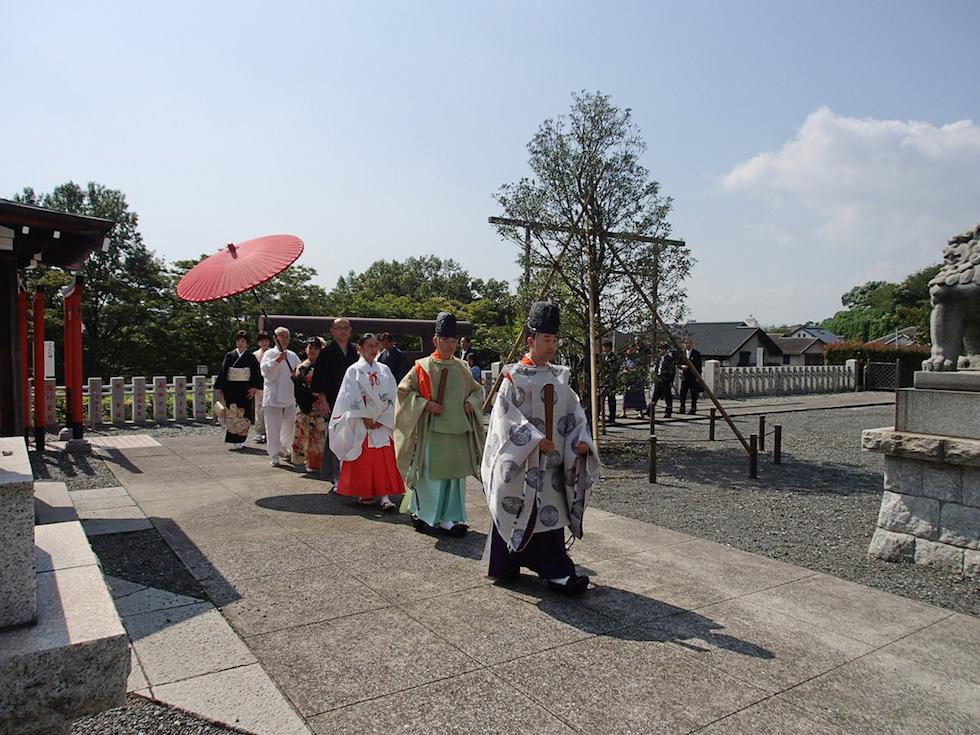 本牧神社 結婚式 写真9