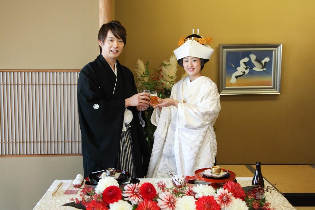 京懐石 みのきち 結婚式 写真2