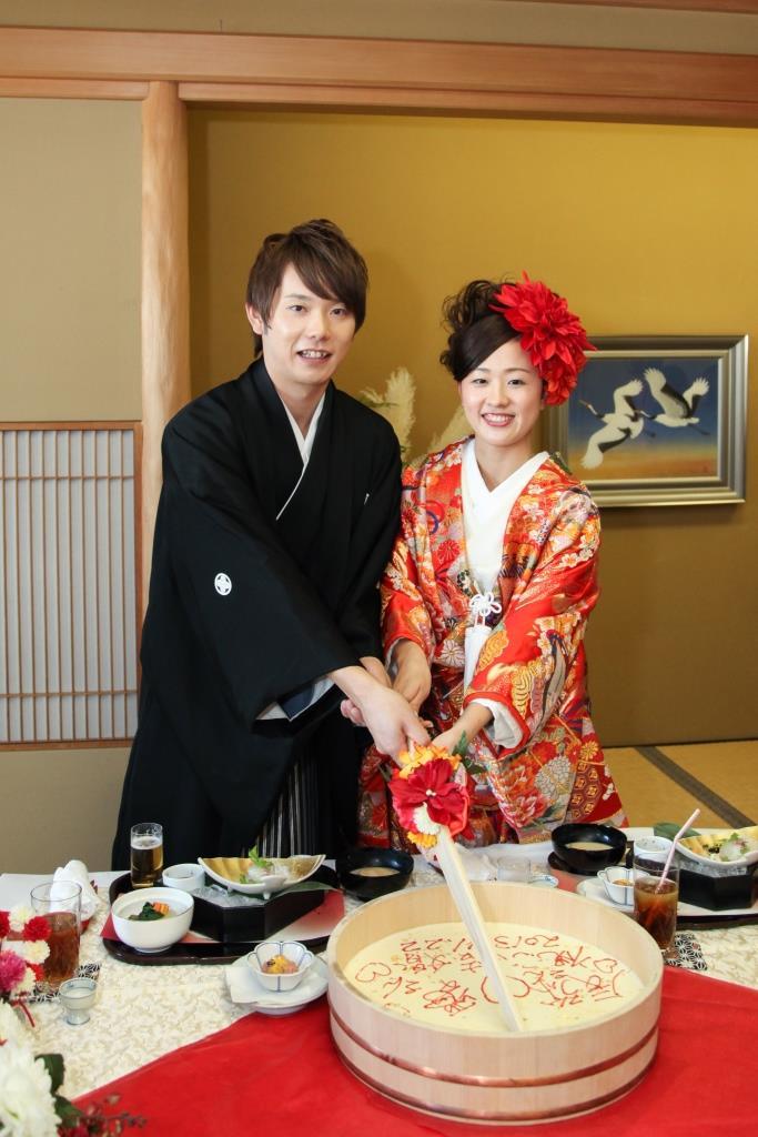 京懐石 みのきち 結婚式 写真3