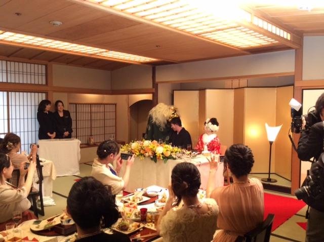 懐石 瓢庵 結婚式 写真4