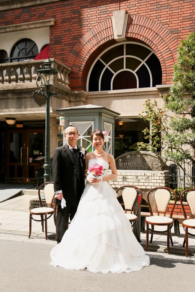 馬車道十番館 結婚式 写真1