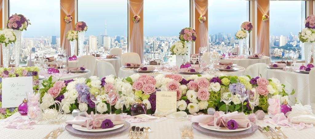 京王プラザホテル 結婚式 写真1