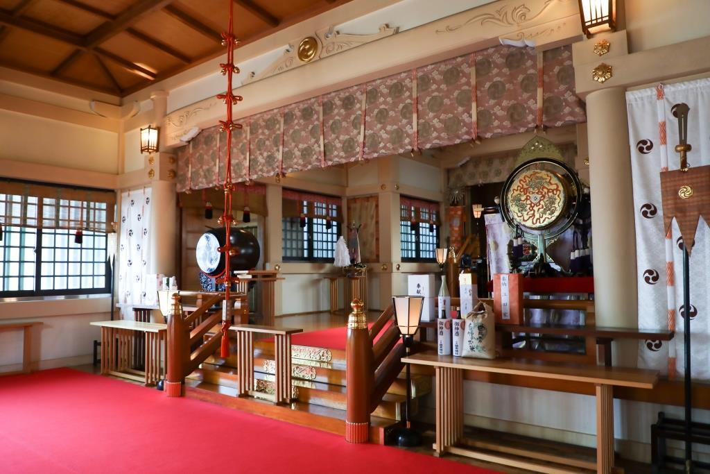 大崎総鎮守 居木神社 結婚式 写真1