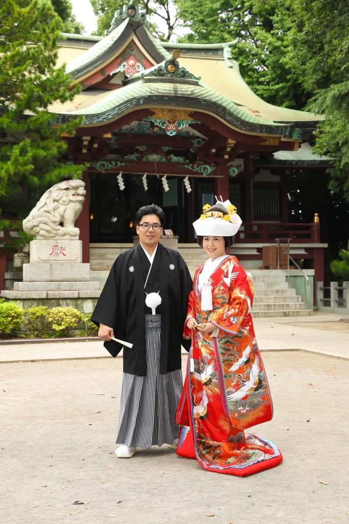 葛西神社 結婚式 写真1