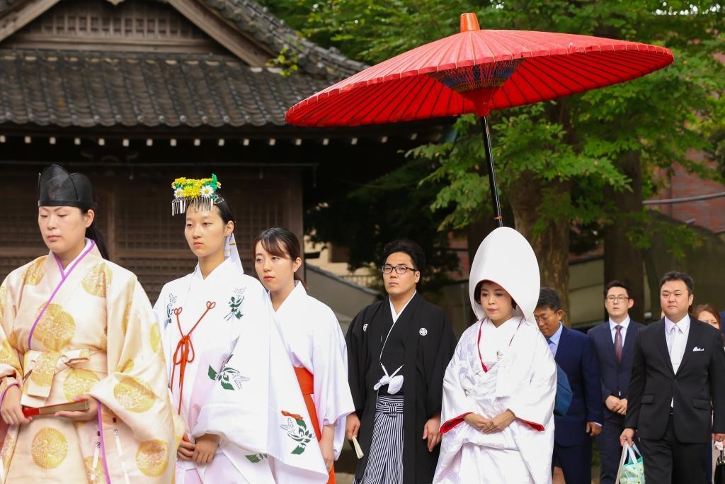 葛西神社 結婚式 写真3