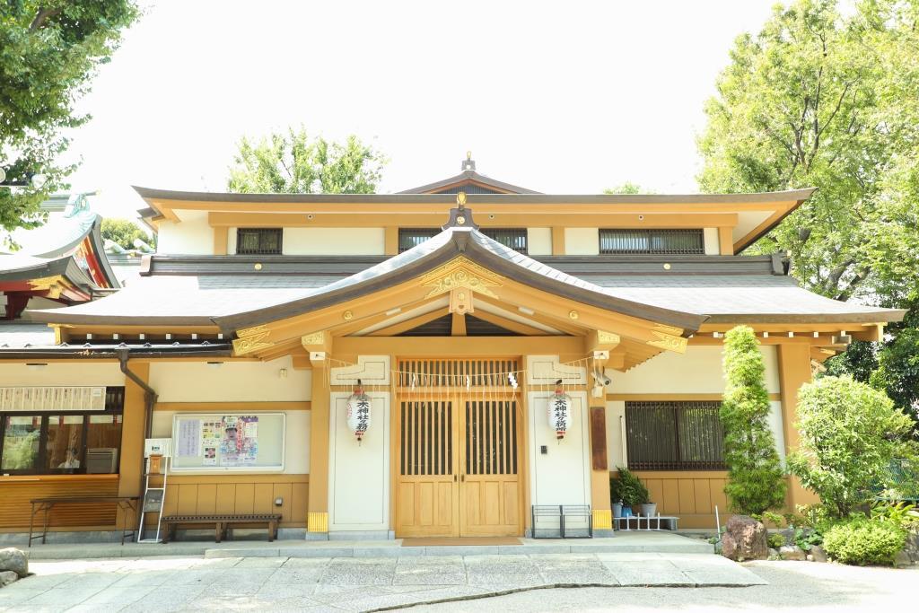 大崎総鎮守 居木神社 結婚式 写真2